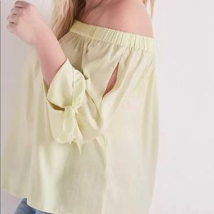 Luckybrand off the shoulder top